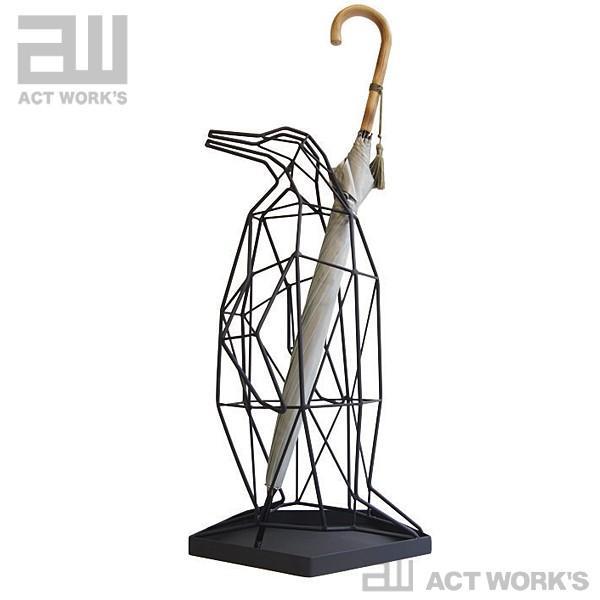 actwork's シャドーワイヤー ペンギン 傘立て UMBRELLA UMBRELLA STAND PENGUIN アクトワークス