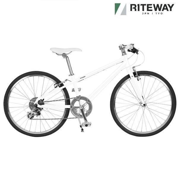 子供用自転車 ライトウェイ シェファード 24スローピング (マットホワイト)2020 RITEWAY SHEPHERD 24SL