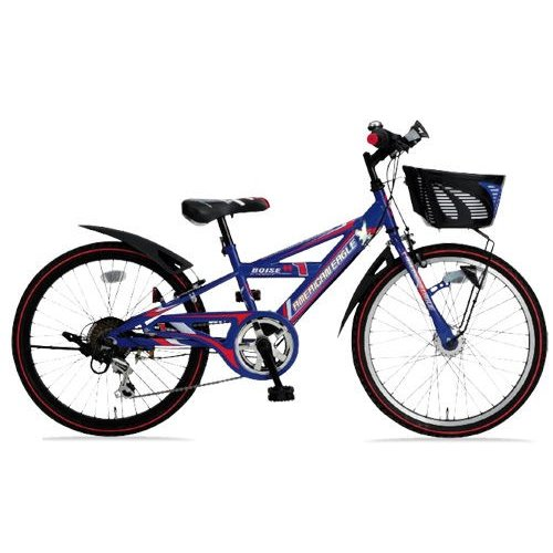 子供用自転車 アメリカンイーグル AE CTB22DX BOISE (ブルー) 2111 AMERICAN EAGLE CTB 22 DX ボイジー ジュニア マウンテン バイク サギサカ SAGISAKA