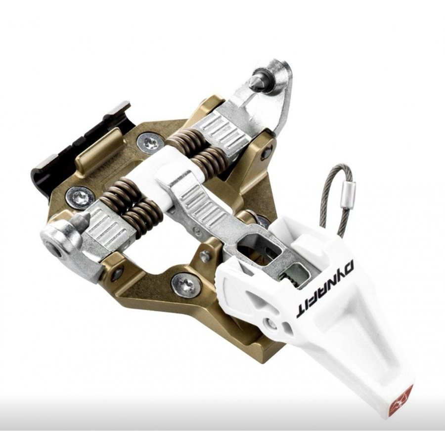 バックカントリー 山スキー TLT ビンディング Dynafit Speed Turn 2.0  茶色と白