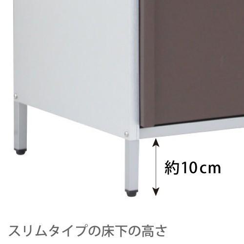 ガルバ製物置 スリム 高さ140cm|adachiseisakusyo|08
