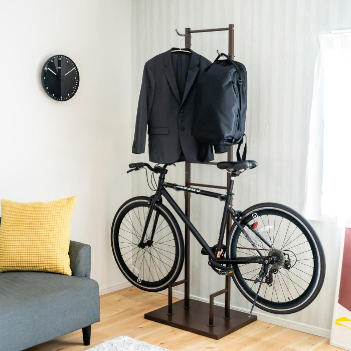 室内自転車スタンド 2台用 adachiseisakusyo 02