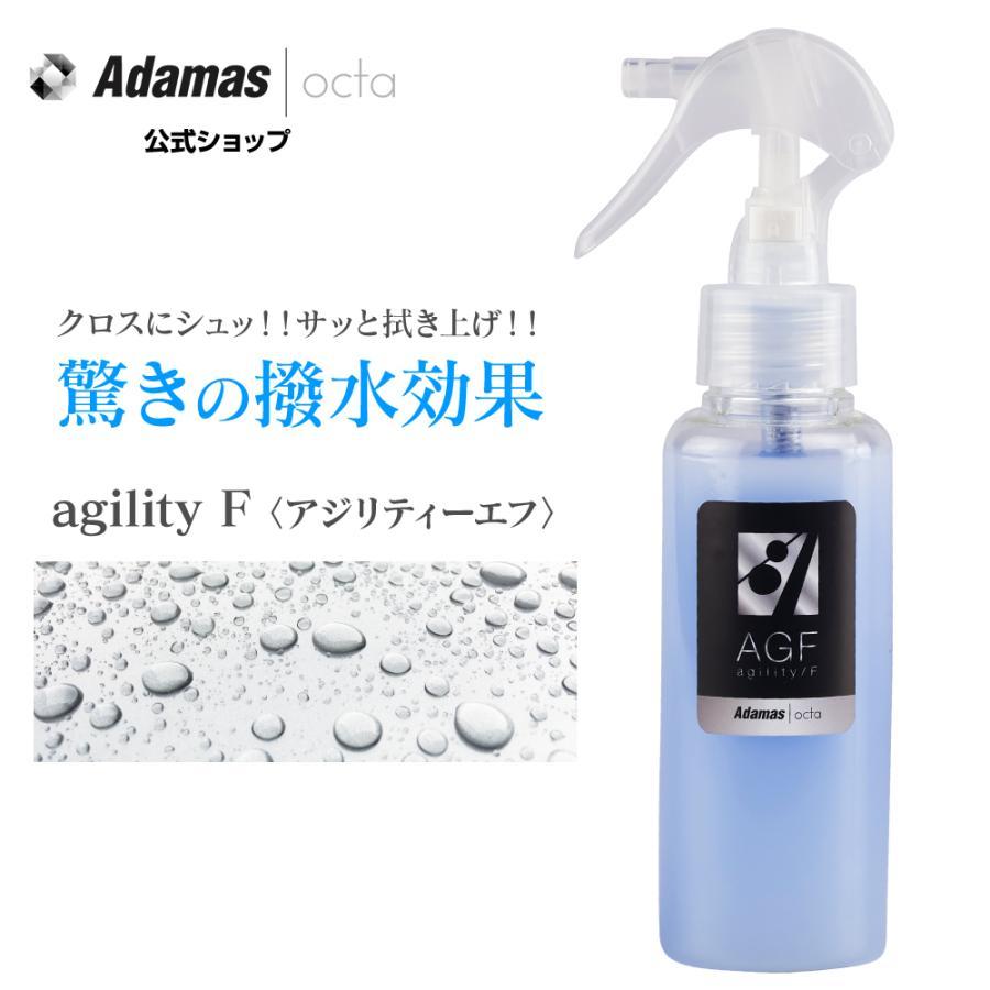 撥水 防汚 塗って拭くだけ 何処でもフッ素コーティング AGF 100ml|adamasocta