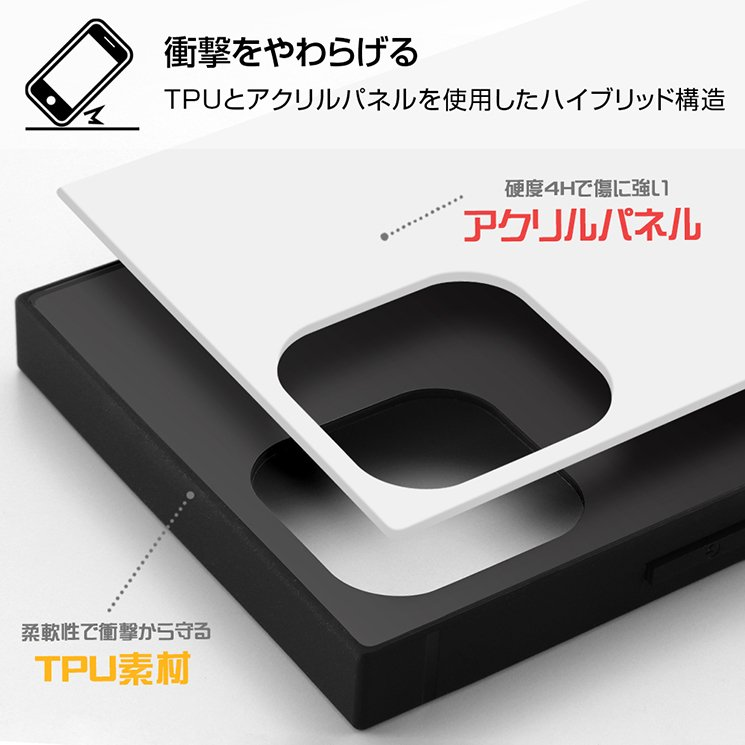 iPhone 12/12 Pro 2020秋 6.1inch ワンピース かっこいい 耐衝撃ハイブリッドケース KAKU TPU アクリルパネル イングレム IQ-OP27K3TB-OP|addfive-store|02