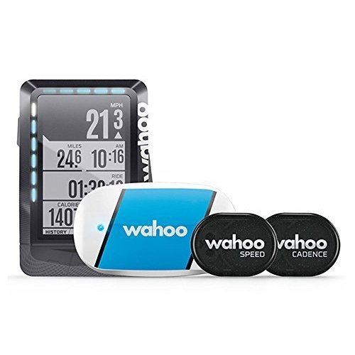 WAHOO(ワフー) ELEMNT GPSサイクルコンピューターバンドル(センサー類/マウント付) WFCC1B