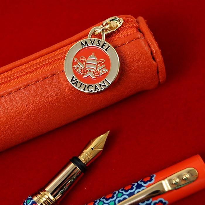 万年筆 ボールペン 筆記具 インク ペンケース セット CAMPO MARZIO バチカン美術館 DULCIS COLORUM SET|adesso-nip|11