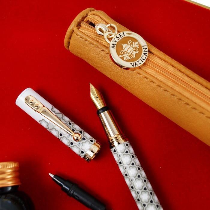 万年筆 ボールペン 筆記具 インク ペンケース セット CAMPO MARZIO バチカン美術館 DULCIS COLORUM SET|adesso-nip|13