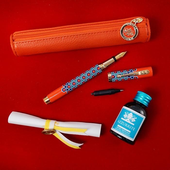 万年筆 ボールペン 筆記具 インク ペンケース セット CAMPO MARZIO バチカン美術館 DULCIS COLORUM SET|adesso-nip|14