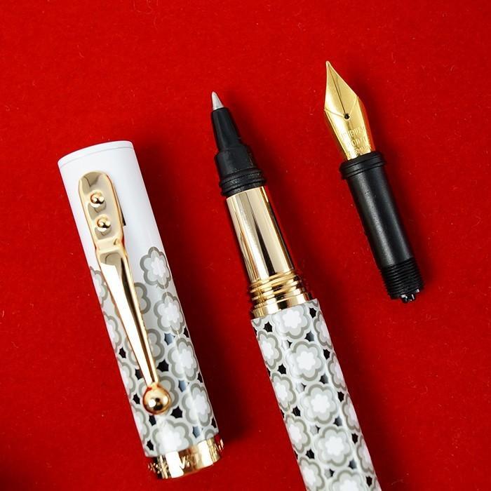 万年筆 ボールペン 筆記具 インク ペンケース セット CAMPO MARZIO バチカン美術館 DULCIS COLORUM SET|adesso-nip|16