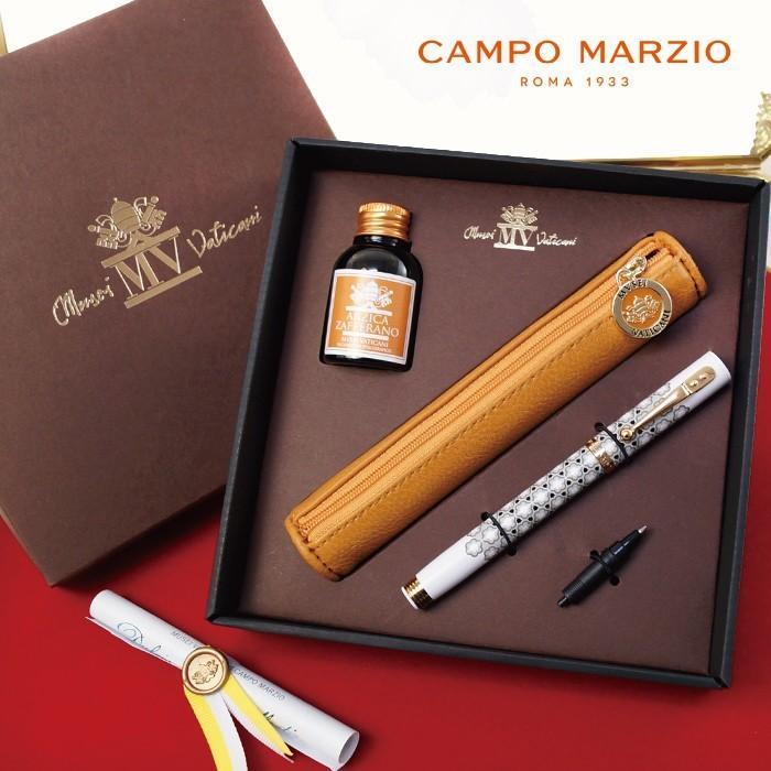 万年筆 ボールペン 筆記具 インク ペンケース セット CAMPO MARZIO バチカン美術館 DULCIS COLORUM SET|adesso-nip|08
