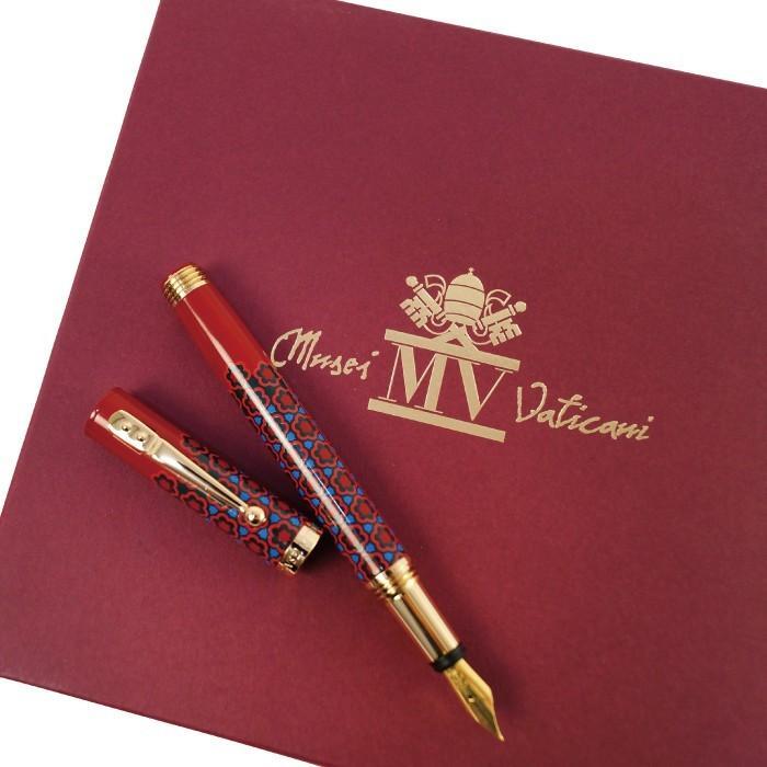 万年筆 ボールペン 筆記具 インク ペンケース セット CAMPO MARZIO バチカン美術館 DULCIS COLORUM SET|adesso-nip|10
