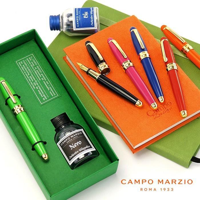 万年筆 カンポマルツィオ CAMPO MARZIO MINNY 万年筆 インク付き adesso-nip
