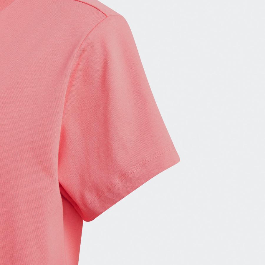 アディダス オリジナルス Tシャツ ガールズ 上 adidas originals 三つ葉 トレフォイル ビッグロゴ 花柄 フローラル 半袖 30746 送料無料 SALE セール|adistyle|11
