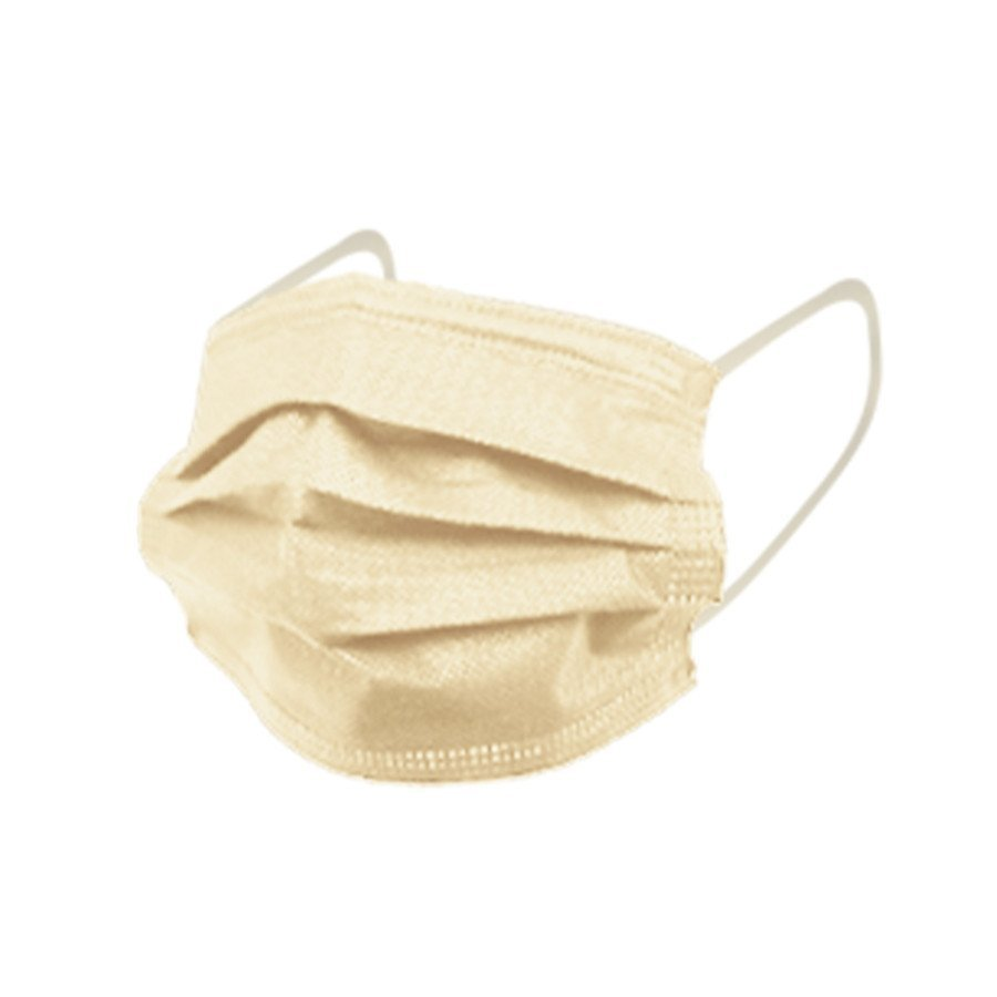 マスク 50枚 不織布マスク  アースカラー  使い捨て 耳に優しい平ゴム使用、 ウイル ス ,ハウスダスト,花粉|adlibitum|15