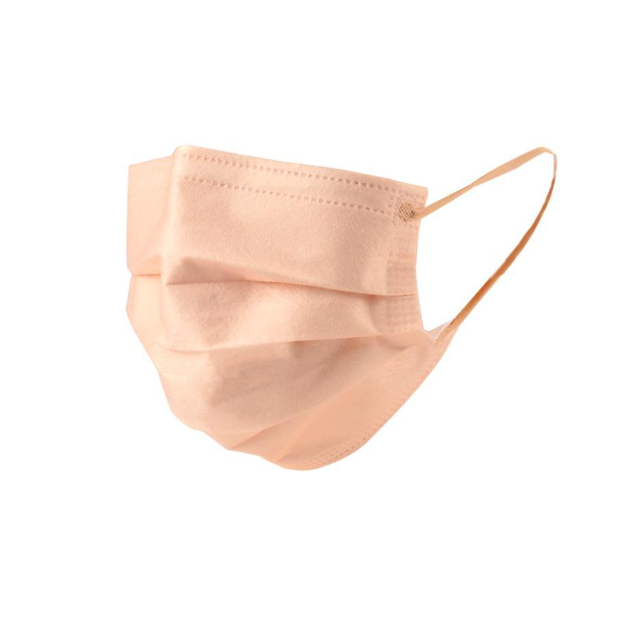 マスク 50枚 不織布マスク  アースカラー  使い捨て 耳に優しい平ゴム使用、 ウイル ス ,ハウスダスト,花粉|adlibitum|12