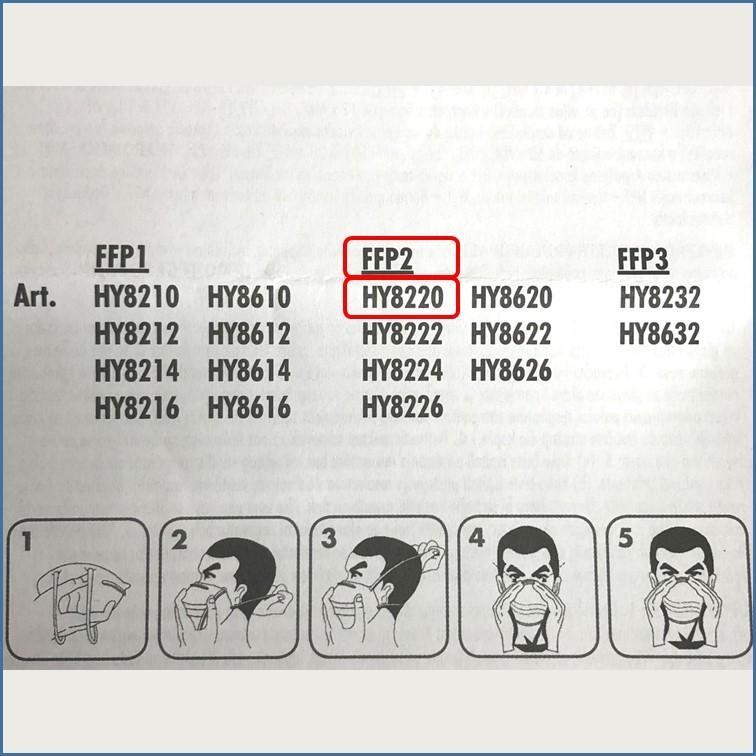 FFP2欧州規格マスク・20枚セット・医療用・欧州では電車に乗る際にFFP2マスク着用を義務付けている国があります。|adm-store|06