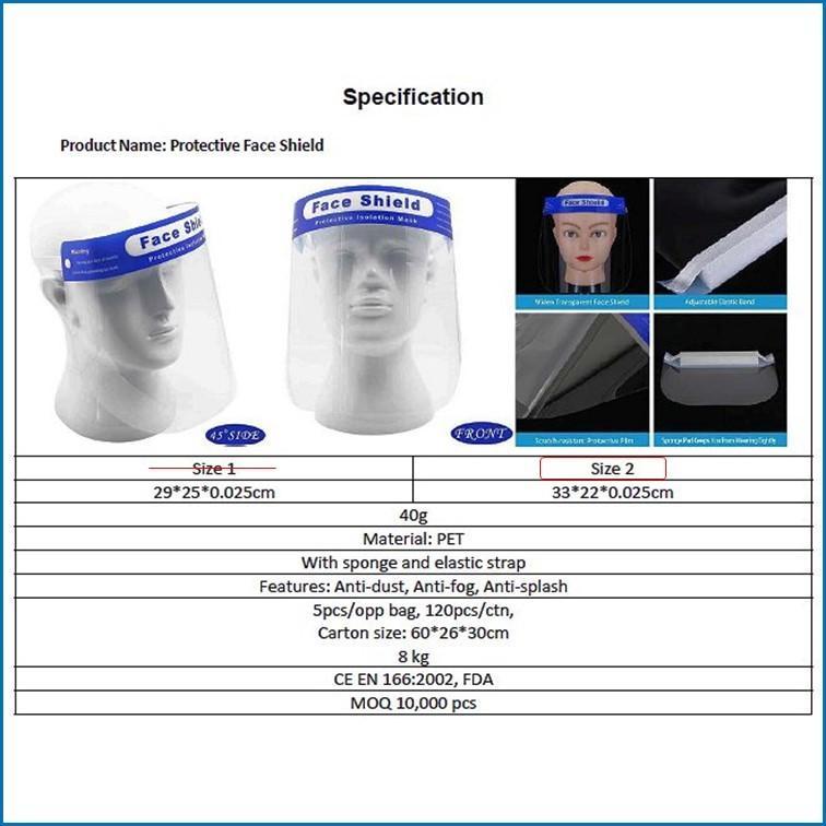 医療用フェイスシールド ウィルス対策・飛沫防止・両面防曇・36枚セット|adm-store|03