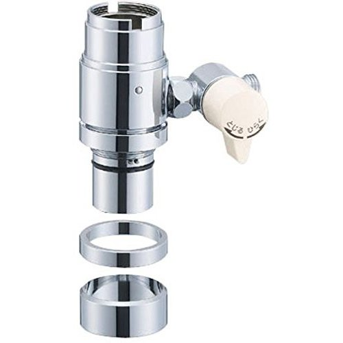 SANEI 水栓部品 シングル混合栓用分岐アダプター TOTO用