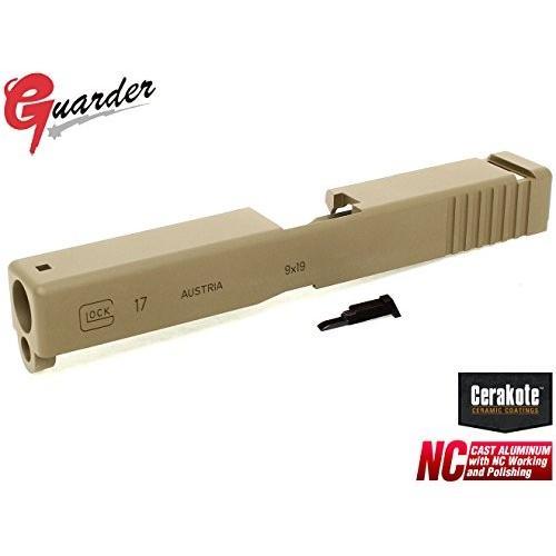 GUARDER アルミスライド Cerakote G17