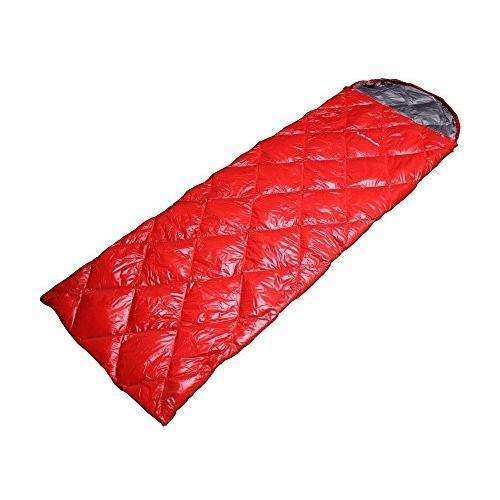 MerMonde (メルモンド) 寝袋 冬用 ダウン [最低温度-10℃ 春夏秋冬 オールシーズン] シュラフ 封筒型 コンパクト 軽量 [ アウトド