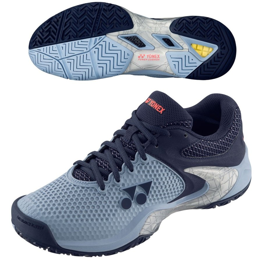 ヨネックス(YONEX) テニスシューズ パワークッション エクリプション 2 M AC(SHTE2LAC(033))(レディース)(オールコート)(3E設計)(ローカット)