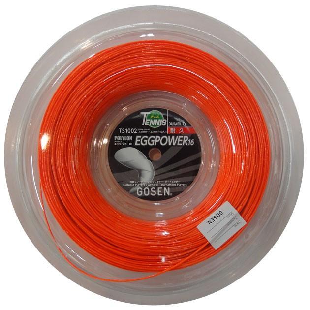 ゴーセン NEW エッグパワー16 200mロール GOSEN EGGPOWER16 TS1002