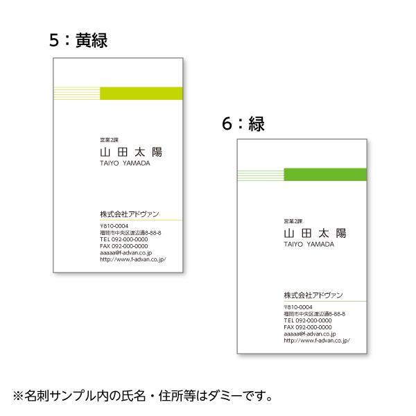 名刺作成 印刷 ビジネス オリジナル  選べる10色 カラー100枚 テンプレートで簡単作成 初めてでも安心 b024|advan-printing|04
