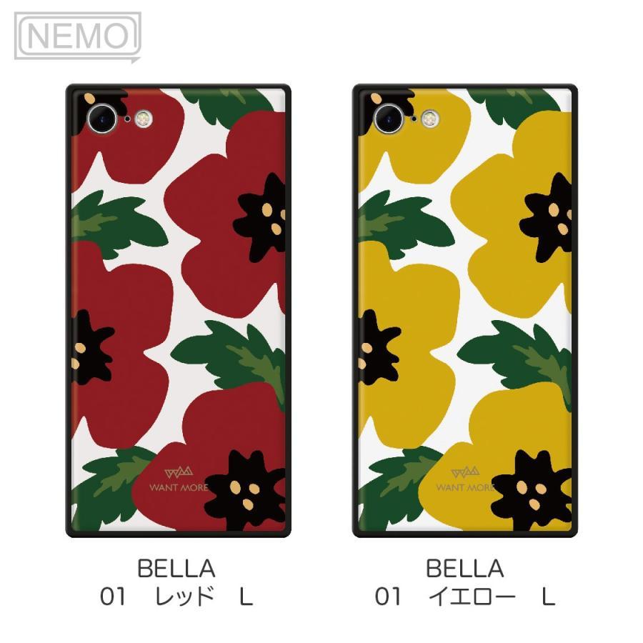 iPhone12 ケース 韓国 iPhone SE ケース iPhone11 ケース iPhoneケース iPhone12 mini ケース iPhone8 ケース iPhone12 Pro ケース ガラス スクエア 花柄 NEMO advan 09