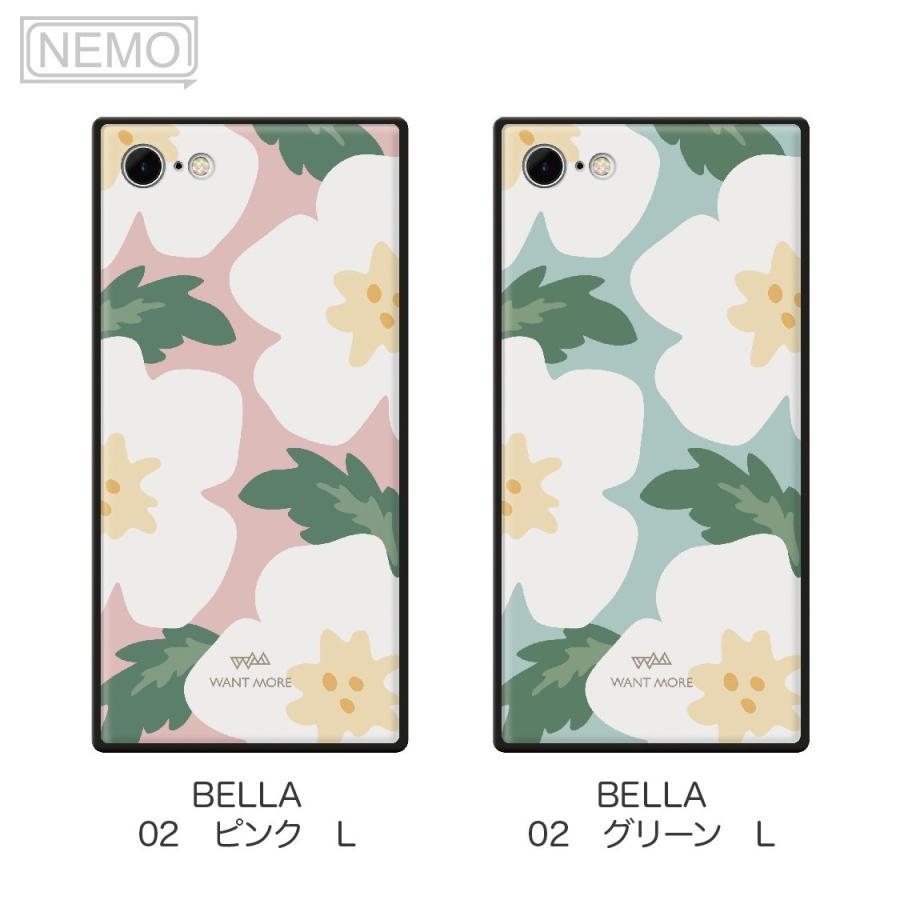 iPhone12 ケース 韓国 iPhone SE ケース iPhone11 ケース iPhoneケース iPhone12 mini ケース iPhone8 ケース iPhone12 Pro ケース ガラス スクエア 花柄 NEMO advan 12