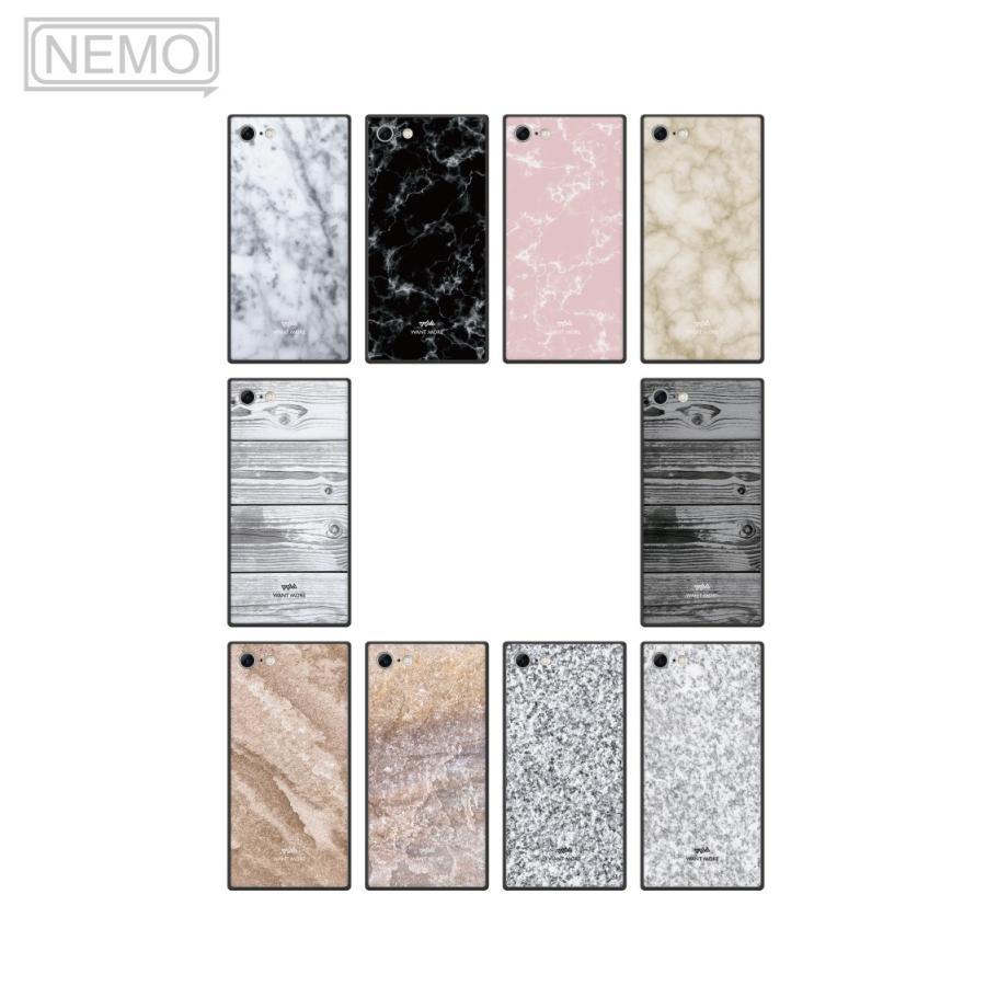 iPhone12 ケース 韓国 iPhone SE ケース iPhone11 ケース iPhoneケース iPhone12 mini ケース iPhone8 ケース iPhone12 Pro ケース ガラス スクエア 大理石 NEMO|advan|06
