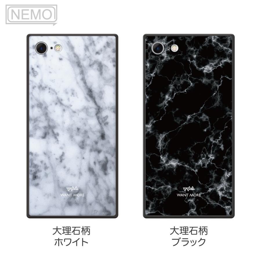 iPhone12 ケース 韓国 iPhone SE ケース iPhone11 ケース iPhoneケース iPhone12 mini ケース iPhone8 ケース iPhone12 Pro ケース ガラス スクエア 大理石 NEMO|advan|07
