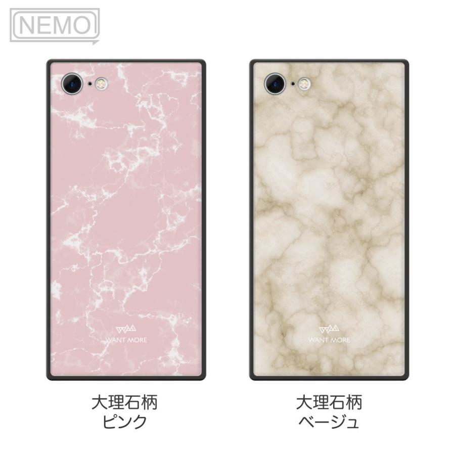 iPhone12 ケース 韓国 iPhone SE ケース iPhone11 ケース iPhoneケース iPhone12 mini ケース iPhone8 ケース iPhone12 Pro ケース ガラス スクエア 大理石 NEMO|advan|08