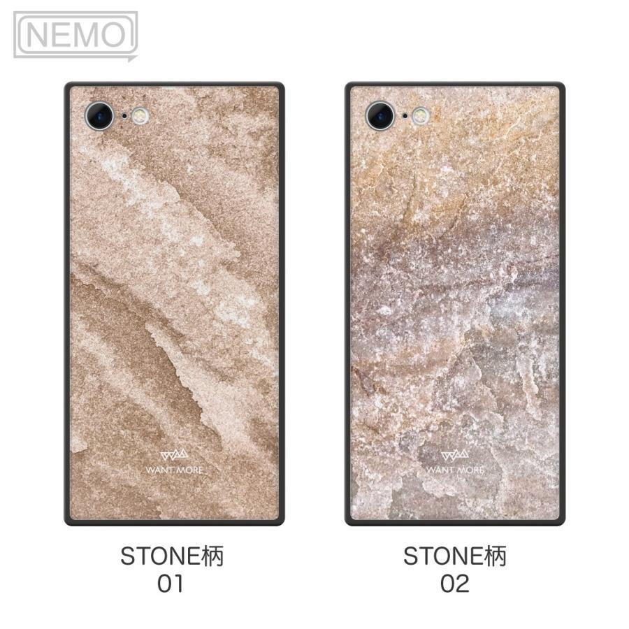 iPhone12 ケース 韓国 iPhone SE ケース iPhone11 ケース iPhoneケース iPhone12 mini ケース iPhone8 ケース iPhone12 Pro ケース ガラス スクエア 大理石 NEMO|advan|09