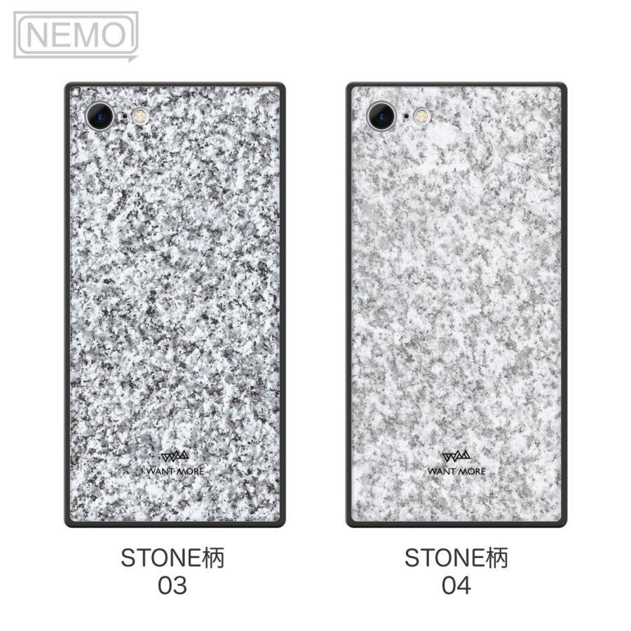 iPhone12 ケース 韓国 iPhone SE ケース iPhone11 ケース iPhoneケース iPhone12 mini ケース iPhone8 ケース iPhone12 Pro ケース ガラス スクエア 大理石 NEMO|advan|10