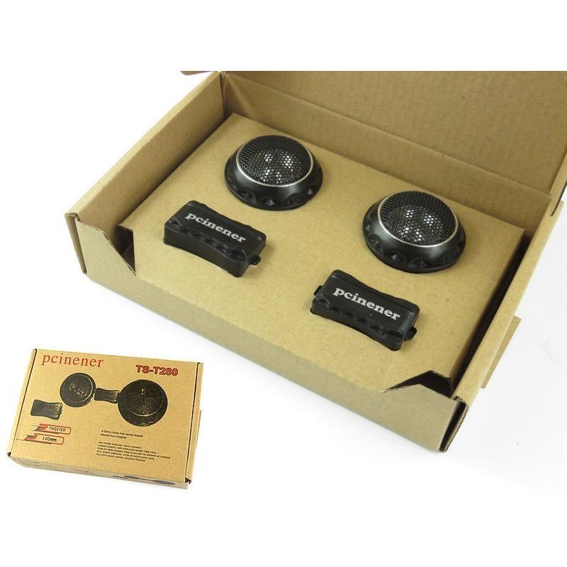 ツイーター スピーカー チュンナップドーム ツィーター 140w 28mm 音響定位を上げるネットワーク付 車用 カー用品 送料無料 advanceworks2008 04