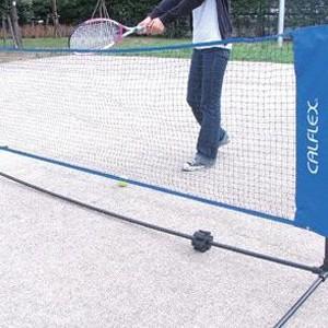 (送料無料)CALFLEX (送料無料)CALFLEX (送料無料)CALFLEX カルフレックス テニス・バドミントン用ネット CTN-155 a2b
