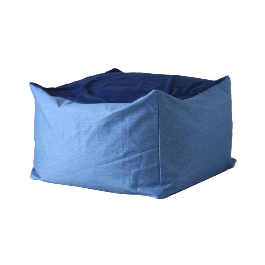 (送料無料)ワンズコンセプト 体にフィットするソファ 体にフィットするソファ Snooze ブルー 60×60×40cm 300865