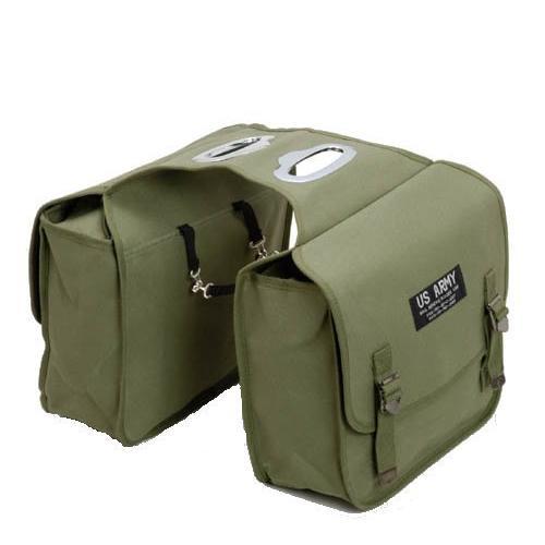 アーミーバッグ■US ARMY ご注文で当日配送 サイドバッグ KHAKI カーキー 送料込 アーミーサドルバッグ