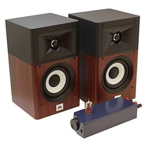 ムジカ製 アンプ&JBLスピーカーセット(スピーカーケーブル付属) JBL-A120W