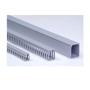 興和化成 KD-44-20T 配線ダクト グレー 2000mm 40本