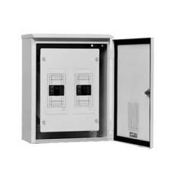 テンパール工業 STB05K2W 開閉器盤(屋外用) 開閉器NFB×2:3P 50A×2