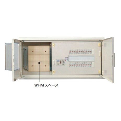 河村電器産業 TSN3622-2FK 主幹60A 22+2 スマートホーム分電盤 LSなし・扉付 WHMスペース付
