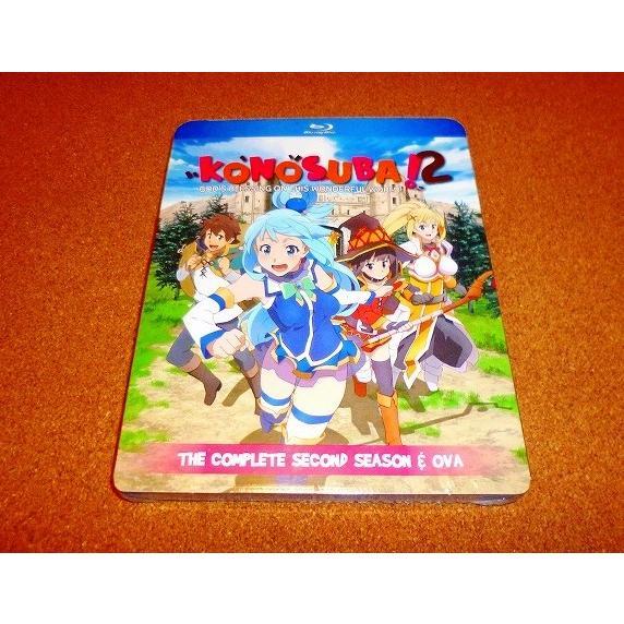 新品BD この素晴らしい世界に祝福を 2 全10話+OVABOXセット 国内プレイヤーOK 着後レビューで 送料無料 売買 第2期