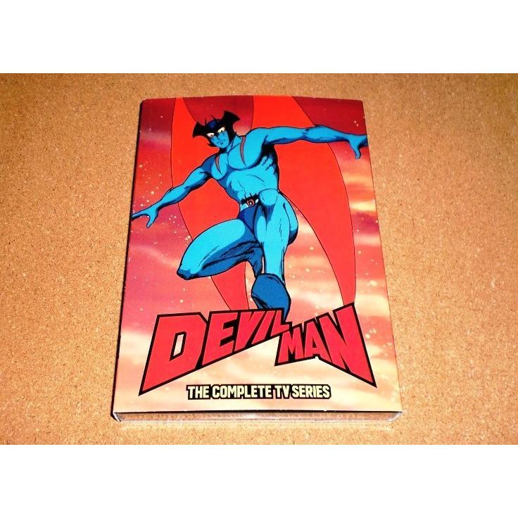 新品DVD 卸直営 デビルマン 爆安 テレビアニメ版 全39話BOXセット 国内プレイヤーOK