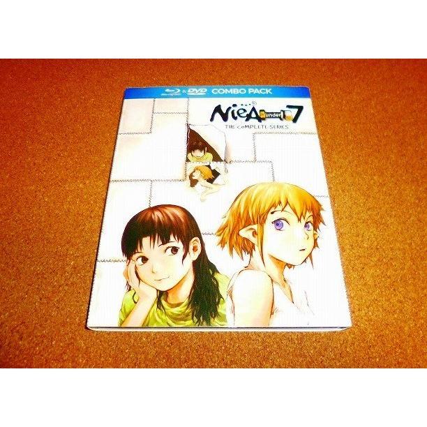 未使用DVD 上品 NieA_7 ニア アンダーセブン 『4年保証』 開封品 国内プレイヤーOK 全13話BOXセット