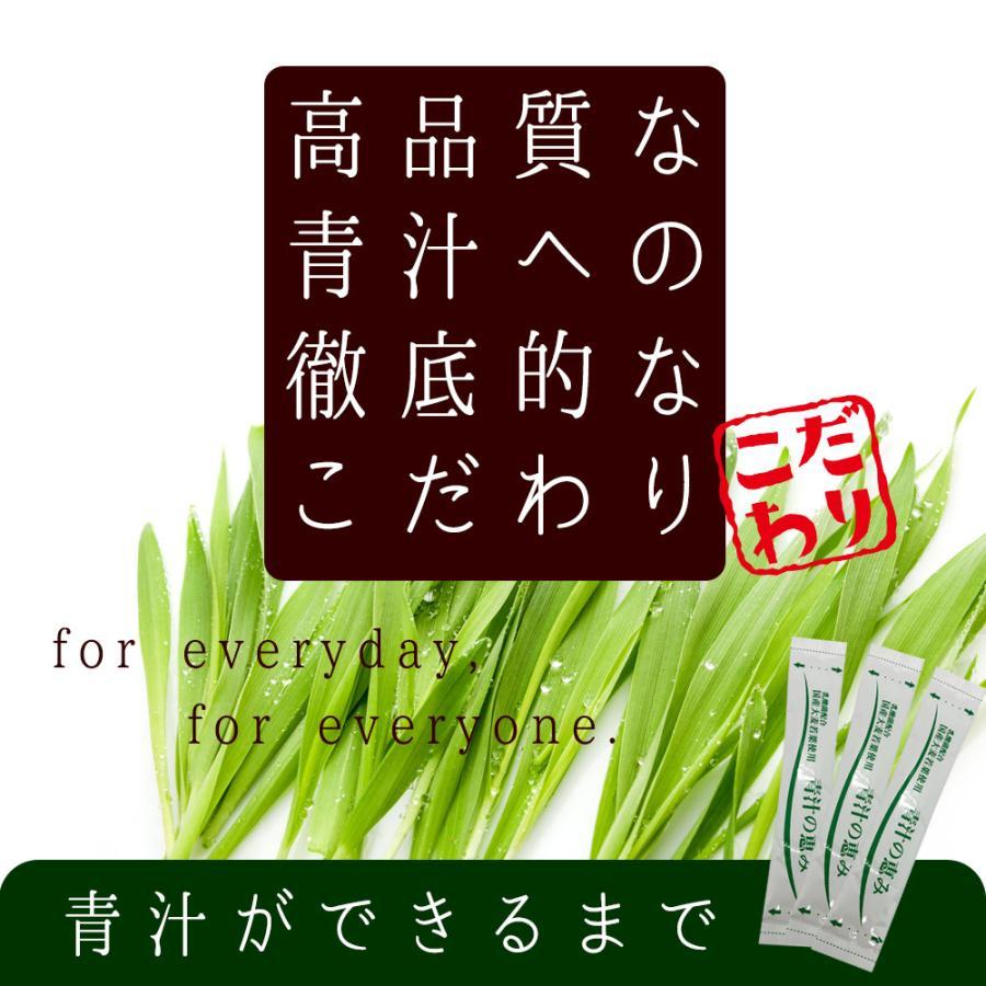 ( 鹿児島県産 乳酸菌 青汁 : 63包 9週間分 )  189g 国産 人気 健康 ダイエット 乳酸菌 食物繊維 大麦若葉 野菜 送料無料 ギフト|aemotion|06