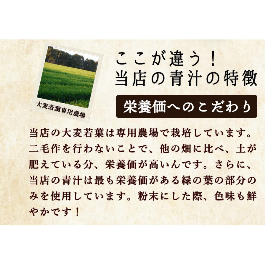 ( 鹿児島県産 乳酸菌 青汁 : 63包 9週間分 )  189g 国産 人気 健康 ダイエット 乳酸菌 食物繊維 大麦若葉 野菜 送料無料 ギフト|aemotion|10