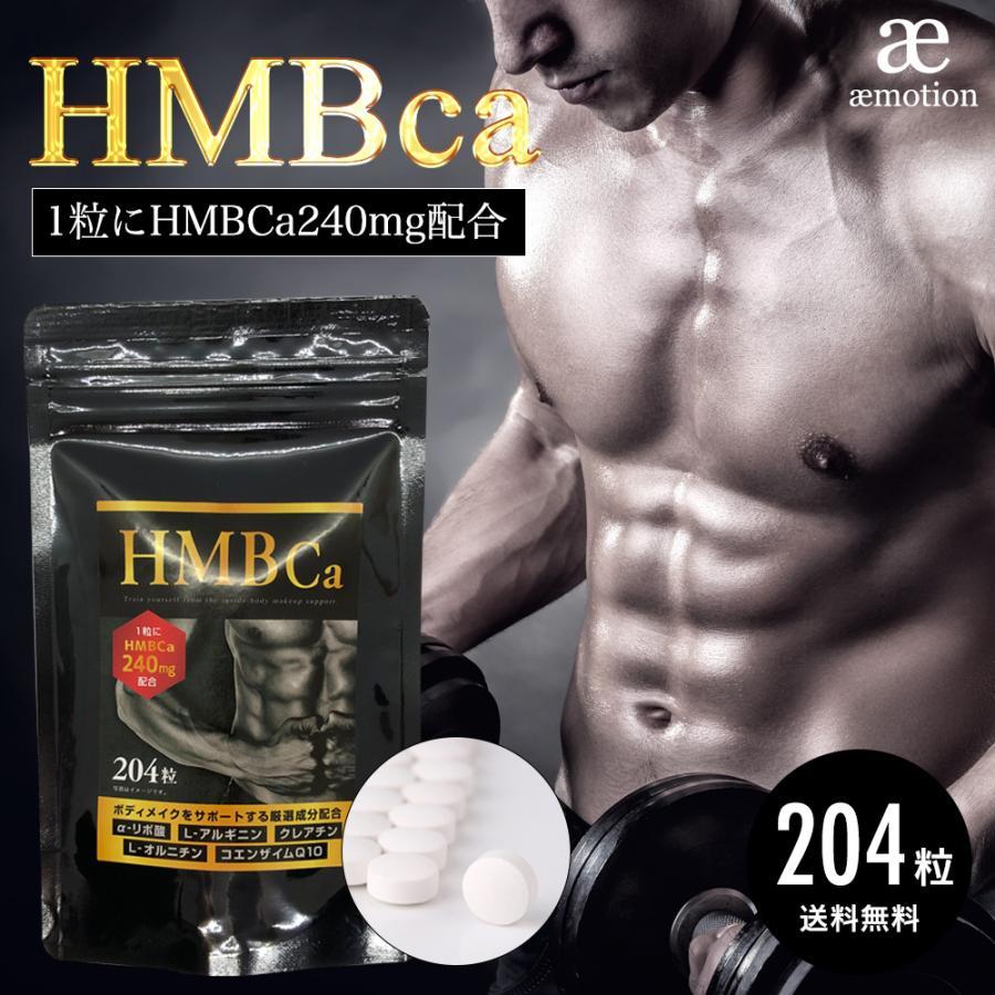 HMB サプリメント 新登場 204粒 HMBca 240mg 筋トレ ダイエット トレーニング サプリ 大容量 ギフト 送料無料 カルシウム 高品質
