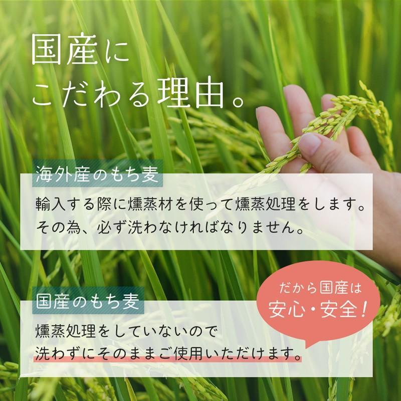 ( 国産もちもち大麦:3kg ) ごはん 国産 大容量 もち麦 ダイエット 健康 米 食物繊維 送料無料 ギフト|aemotion|05