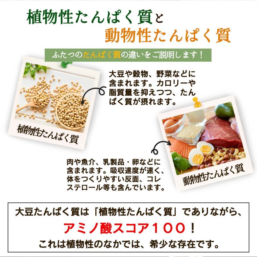 ( ナチュラル ソイ プロテイン 1kg ) 無添加 保存料不使用 大豆 ダイエット 美容 筋肉 スポーツ 大容量 アミノ酸 プロテイン 送料無料 ギフト|aemotion|10